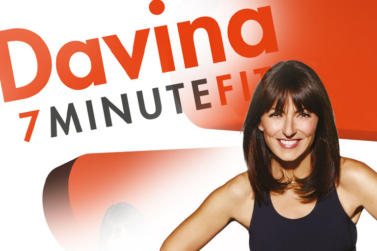 Davina - Davina 7 minute fit DVD Responsive ecommerce website